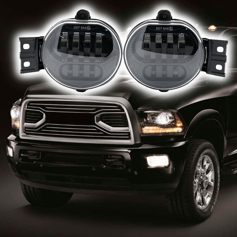Pair For Dodge Ram 1500 Ram 2500 Ram 3500 Ram 2002-2008 Fog Light Driving Lamp Car Light Assembly