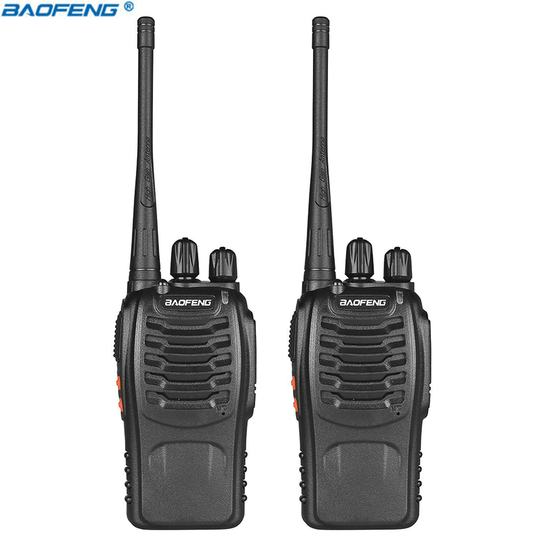 bilder für 2 stücke Baofeng BF-888S Walkie Talkie Transceiver UHF Intercom Zweiwegradio Handfunkgerät BF Baofeng 888 s Walkie Talkie