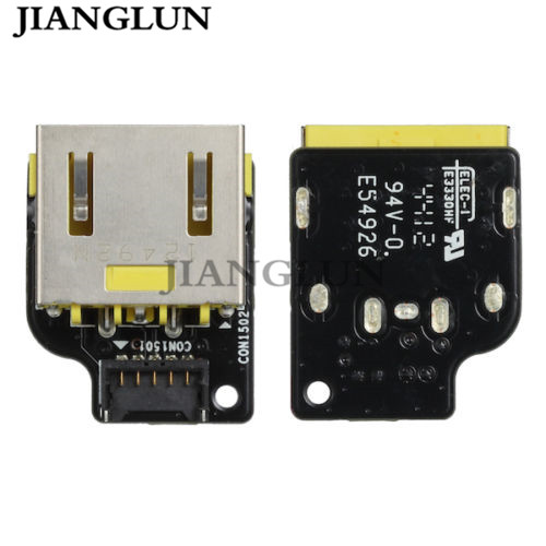 JIANGLUN New DC POWER JACK BOARD FOR LENOVO IDEAPAD YOGA 11 11S SERIES 11S-5937 11S-59370520 E54926