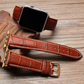 Apple Watch Band 38mm 42mm apple watch wristwatch Italian leather crocodile pattern classic pin buckle strap