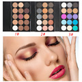 Fashion Natural 15 Earth Colors Eye Shadow Makeup Matte Pigment Glitter Eyeshadow Palette Cosmetic Tools 3 Patterns Optional