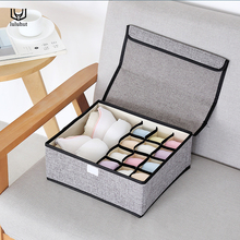 luluhut underwear box Non-woven foldable storage box for bra socks underwear storage Multi-function home storage organizer