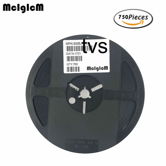 MCIGICM 750pcs 600W SMB_DO 214AA smd tvs diode SMBJ28A SMBJ30A SMBJ33A SMBJ36A SMBJ40A SMBJ43A SMBJ45A SMBJ48A