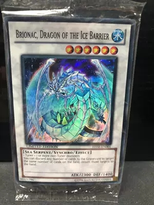 Yu Gi Oh Game Card UR Gold Flash DT Original Ice Enchantment Dragon Light Gun Dragon English Japanese Card Tray Collection Card
