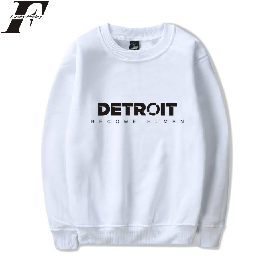 f761209c213 LUCKYFRIDAYF Detroit Become Human Sweatshirts Hot Game Steelers Spring  Hoodies Pullover Regular Sweatshirts Clothes Plus Size-in Hoodies    Sweatshirts from ...