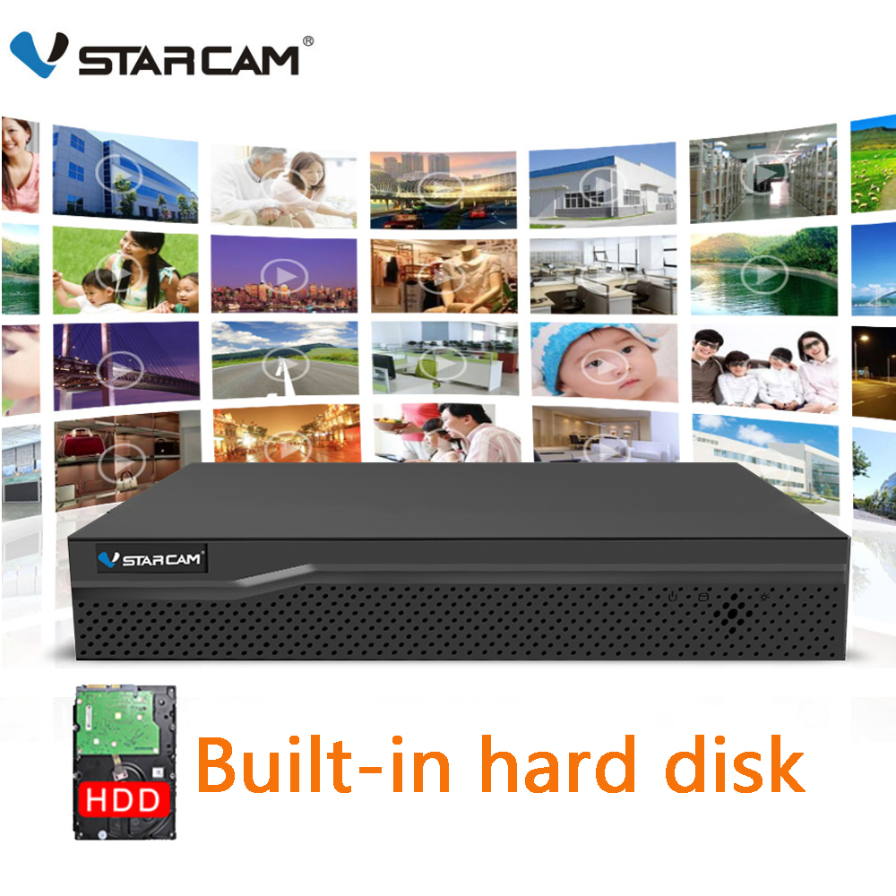 VStarcam 1080P NVR With HDD 4CH 8CH Network Video Recorder Resolution 1920x1080 Onvif 2 4 Best