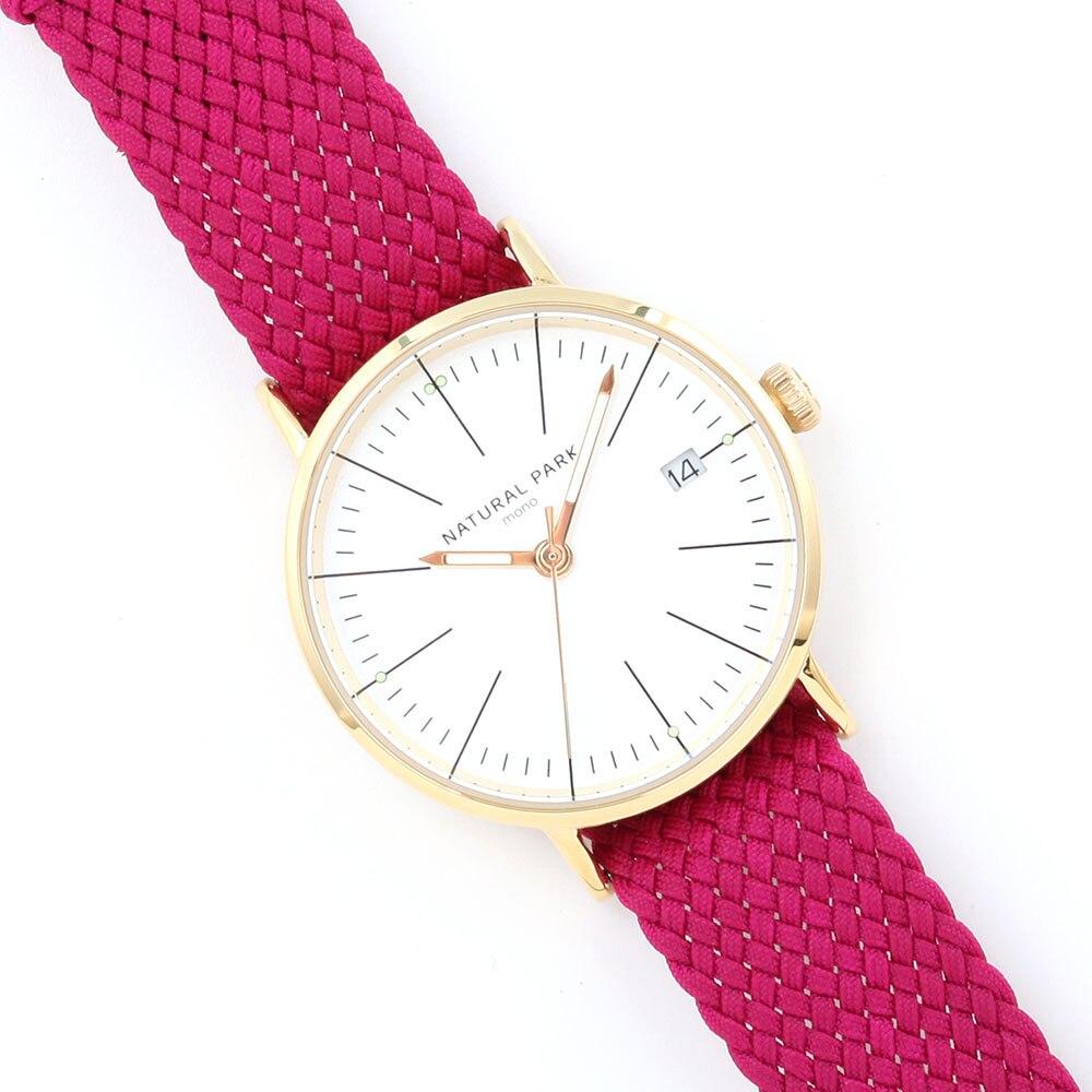 Top Luxury Brand Watch New 2016 Fashion Casual Women Dress Watches Handcraft Nylon Strap Montre Femme Quartz Clock Relogio odm luxury top brand 2016 new fashion and casual leather strap quartz women watch dma042