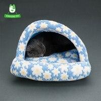 3 Couleurs Nouvelle Mignon Chat Lit Hiver Chaud Doux Chien maison Chenils Chat Lit Canapé Maison Pour Petit Chien Chiot chat