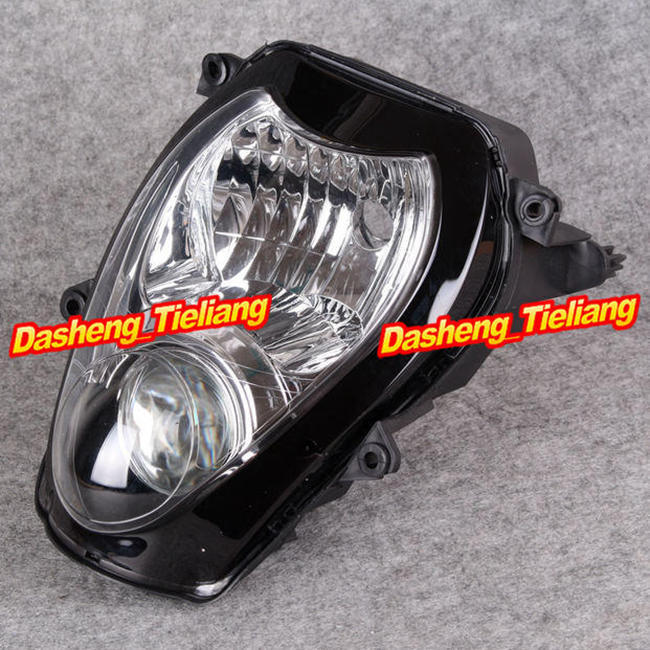 Motorcycle Front Headlight Headlamp Assembly For Suzuki GSX1300R Hayabusa GSXR1300 1999 2000 2001 2002 2003 2004 2005 2006 2007 black headlight for suzuki hayabusa 1300 gsx1300r 1999 2007 front brand new motorcycle clear light lamp from china