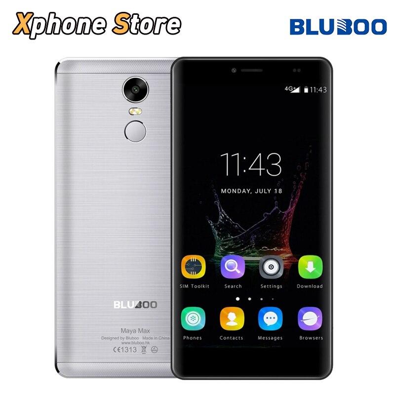Цена за Оригинальные bluboo майя макс 6.0 дюймов android 6.0 3 ГБ ram 32 ГБ rom mtk6750 окта основные 1.5 ГГц 4 г lte 13.0mp touch id мобильного телефона