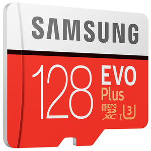 Image 2 - Samsung cartão tf MB MC EVO Mais microSD128GB UHS I cartão de memória cartão de memória flash de 128 GB U3 Class10 4 K UltraHD microSDXC
