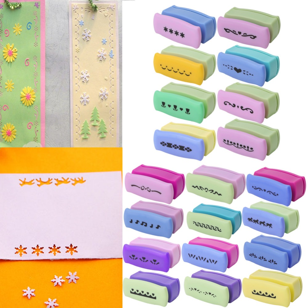 1pc Printing Paper Hand Shaper Scrapbook Tags Cards Craft Diy Punch