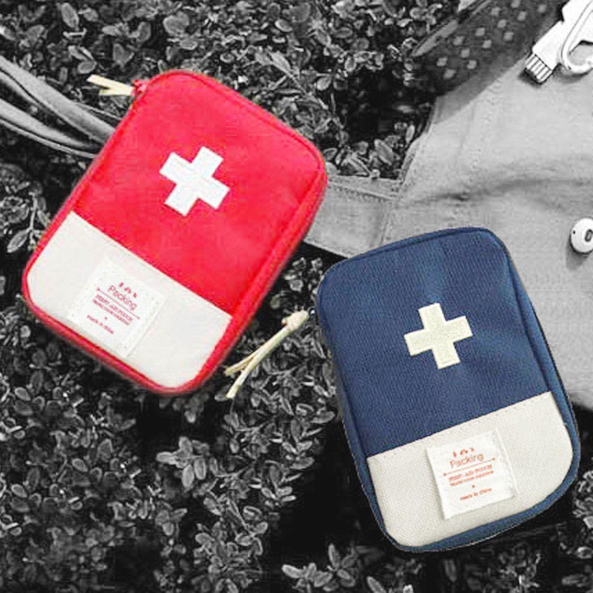 100% Wahr Reisetaschen Frauen Männer First Aid Kit Überleben Medizinische Tasche Behandlung Fall Rettungs Einfach Zu Reparieren