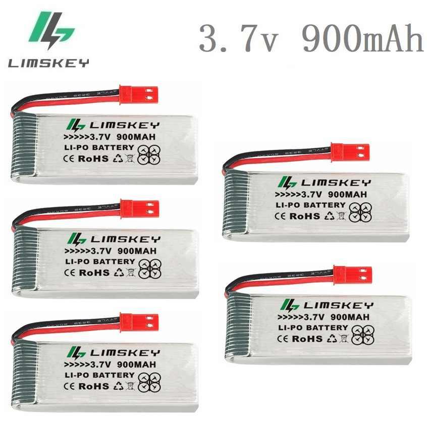 3,7 V 900mah lipo batería para 8807 8807W A6 A6W M68 recambios de cuadrirrotor Rc accesorios Rc Drones 3,7 v batería recargable