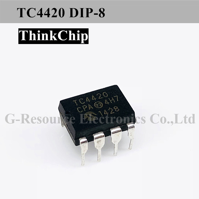 Free Shipping 10 PCS / Lot TC4420 DIP-8 MOSFET Driver, Low Side, 4.5V To 18V Supply, 6A Out, 55ns Delay