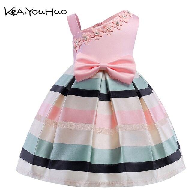 d025e091517f8 Filles robe d'été fille floral princesse fête robes enfants vêtements de  mariage tutu bébé