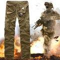 Новый 2015 высокое качество анти-усталость солдат армия армия боевая брюки-карго брюки нескольких карманные свободного покроя Pantalon Homme