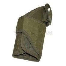 Caza táctico Universal Nylon Molle pistolera cinturón cintura escopeta pistola ejército GL 1911 92 USP SP2022 funda de pistola bolsa
