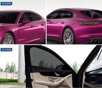 20% VLT Black Window Tint Film 1.52m x 10m Car Sticker Heat insulation Protection UV Tinting For Side Window Sun Visor HOHOFILM