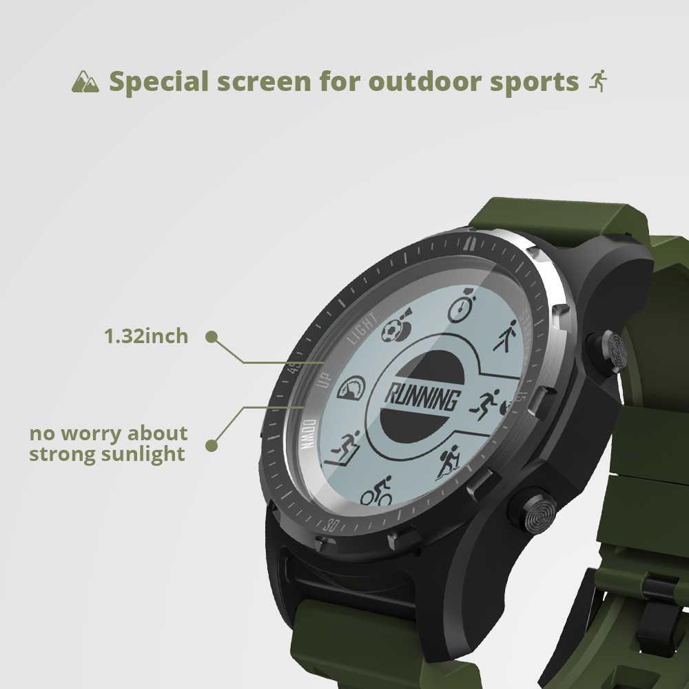 Makibes BR2 GPS Kompass Tacho Sport Uhr Bluetooth WANDERN Multi-sport fitness tracker Smart Uhr Tragbare Geräte