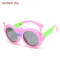 dee80ba85 2017 Uvv400 Children Sunglasses Cute Sunshades Robot Fold Glasses Fashion  Oculos Polarizer Sun Glasses For Kids. 2017 Crianças Óculos De Sol ...
