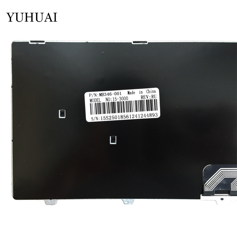Image 2 - Russian RU laptop Keyboard for Dell Inspiron 15 3000 5000 3541 3542 3543 5542 3550 5545 5547 15 5547 15 5000 15 5545 17 5000-in Replacement Keyboards from Computer & Office on