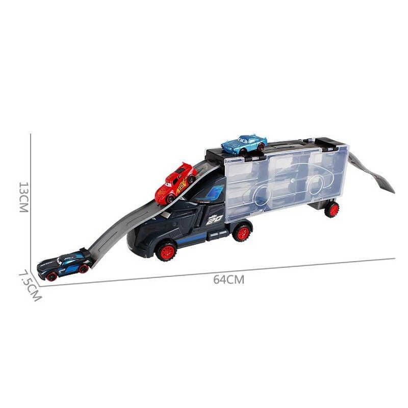 Disney Pixar Cars 3 игрушки Молния Маккуин Джексон шторм Mack Uncle Truck 1:55 литой модельный автомобиль игрушка детский подарок на день рождения