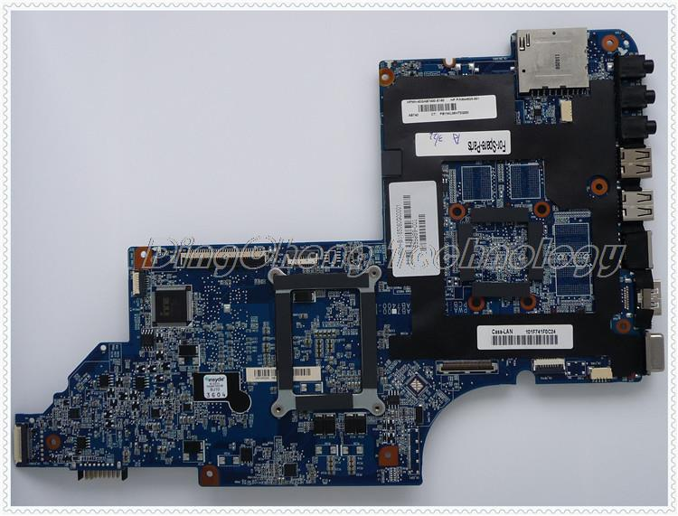 45 days Warranty For hp DV7-6000 650852-001 laptop Motherboard for AMD cpu with integrated graphics card 100% tested 45 days warranty for hp cq62 g62 610161 001 laptop motherboard for amd cpu with ati hd5430 ddr3 integrated graphics card