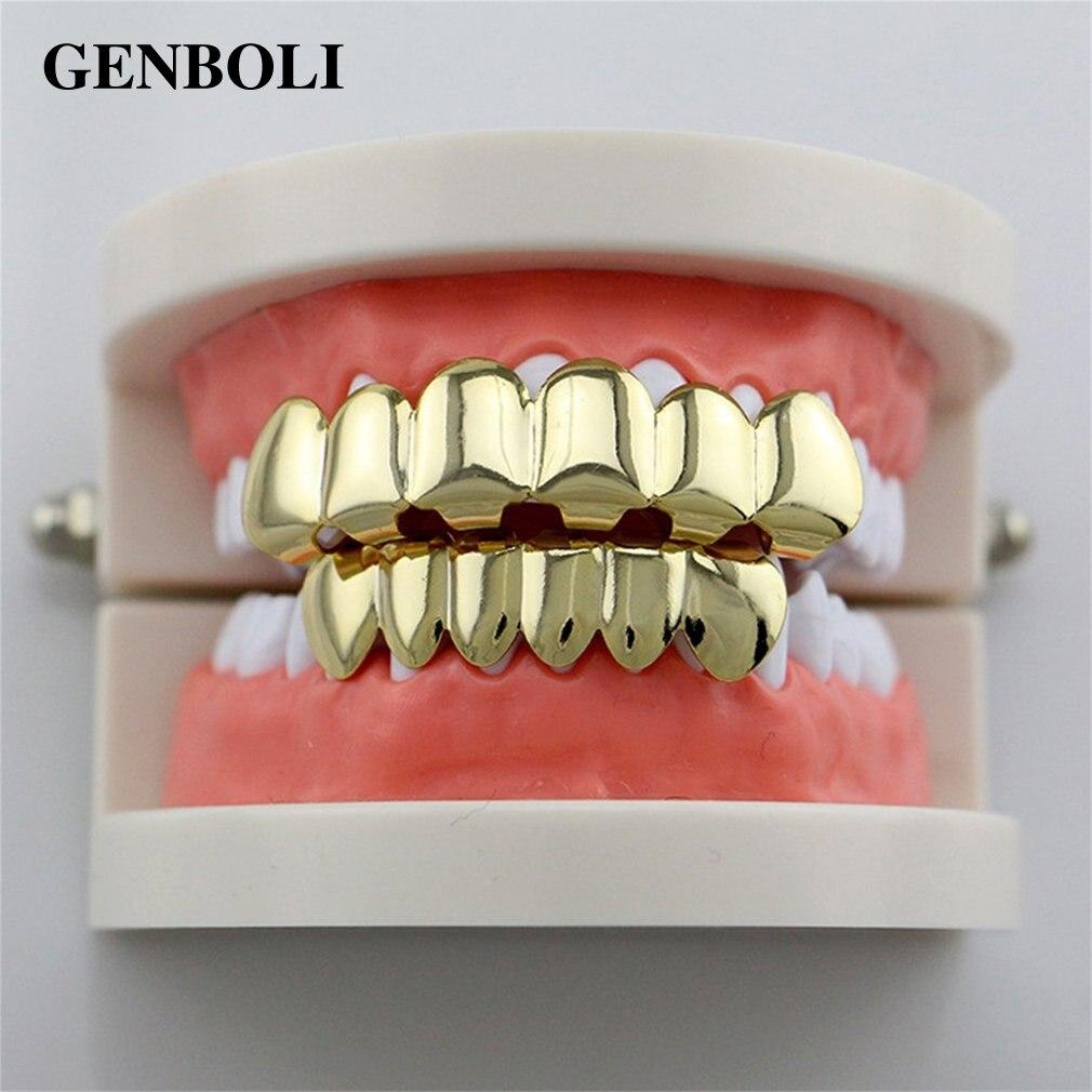 Aliexpress.com : Buy GENBOLI Hip Hop Silver Gold Teeth ...