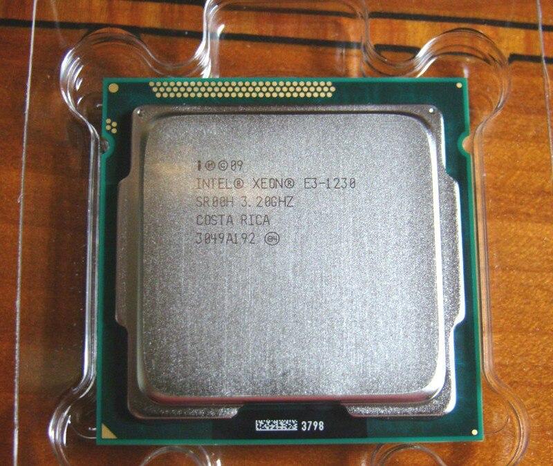 Intel Xeon E3 1230 SR00H 3.20GHz 8MB Quad Core LGA1155 CPU Processor e3-1230