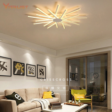 Mounted Acrylic LED Lamp Ultra-thin Led dimming led Ceiling lamp for stairs aisle corridor background bedroom AC 110-240V