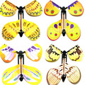 magic flying butterfly change from empty hands freedom butterfly close up magic tricks magia kids toy funny gadgets
