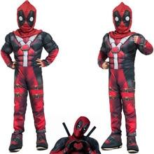 Death Waiter Cosplay Childrens X-men Avenger Alliance Deadpool Costume