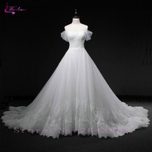 Waulizane Romantic Ball Gown Wedding Dresses