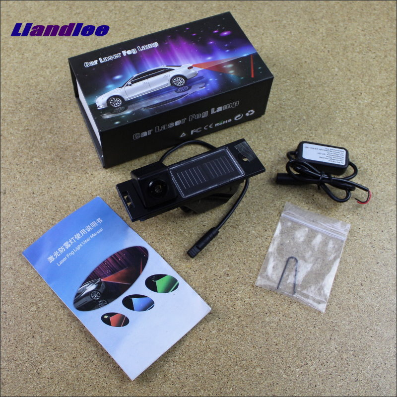 Liandlee Pedal Performance Parts For Hyundai ix35 2014~2015 Laser Shoot Lamp Prevent Warning Lights Fog Tail Decorative Light 1 x motorcycle taillight 12v laser lights change pedal decorative lamp safety warning cross word laser