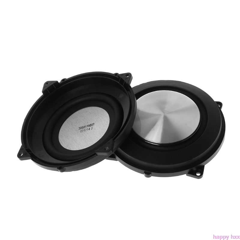 New 2PCS Passive Radiator 120mm Woofer Speaker Auxiliary Bass Membrane Vibration Diy Accessories