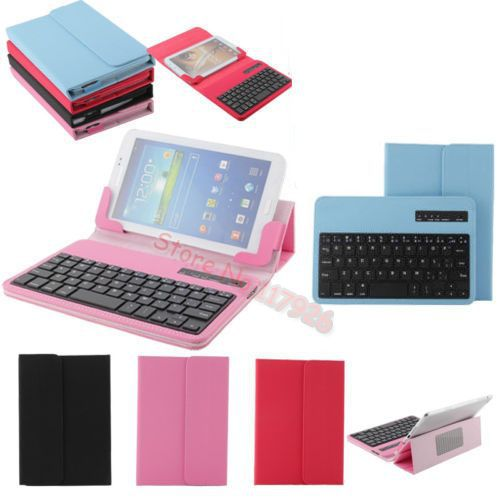 Tablet & eBook Reader Accs PU Leather Bluetooth Keyboard