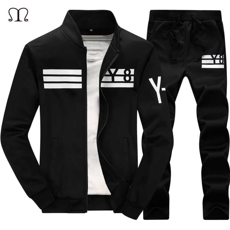 Winter Sweatshirt Men TrackSuit Chandal Hombre Warm Tracksuits Sets Brand Men Sportswear Sets Leisure Hoodies Mens Clothing