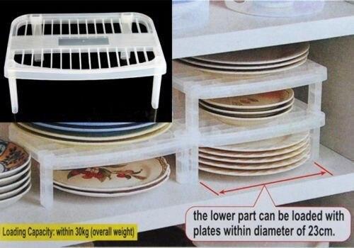 Plate Organizer Rack