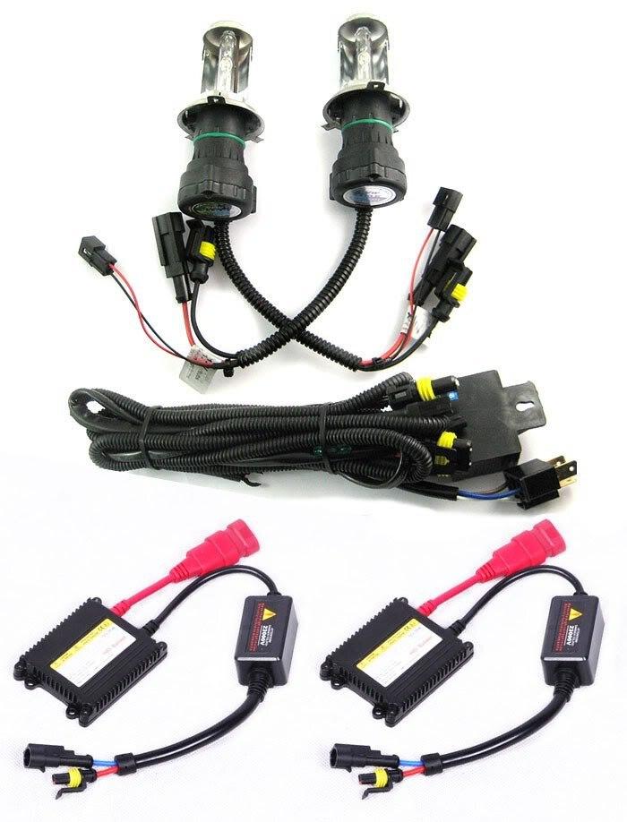 Tout nouveau H4-3 4300 K Hid xénon ampoules Slim Ballasts Kit de Conversion en gros et au détail [C152]