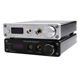 NEW DAC-X7 XMOS AK4490EQ USB DAC Decoder Audio Headphone Amplifier DSD256 OPA2604 TPA6120 USB / optical / coaxial / AUX input