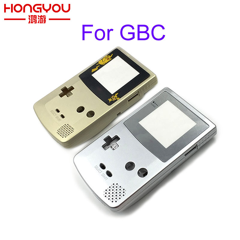 For Game Boy Case For GBC Gold And Silver Replacement Housing Shell For GBC Housing Case Pack
