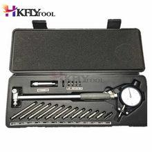 Jauge d'alésage micromètre, outil de mesure avec cadran à anneau central, haute qualité, 35-50 mm, 50-160 mm/0,01 mm