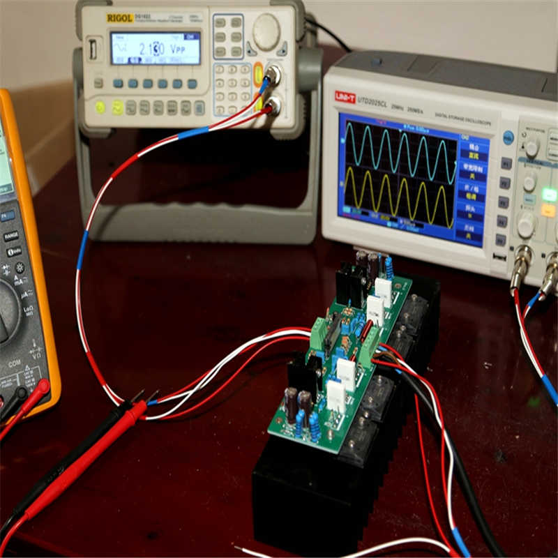UPC2581V يدفع SANKEN C2922/A1216 150w * 2 مكبر كهربائي مجلس