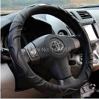 Top grade car Steering wheel cover 520li X5 A6L A3 A5 A7 A8 X6 x1 X3 Steering Wheels Leather Sheepskin