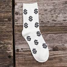 Show me the money ! Dollar $$ Long Socks