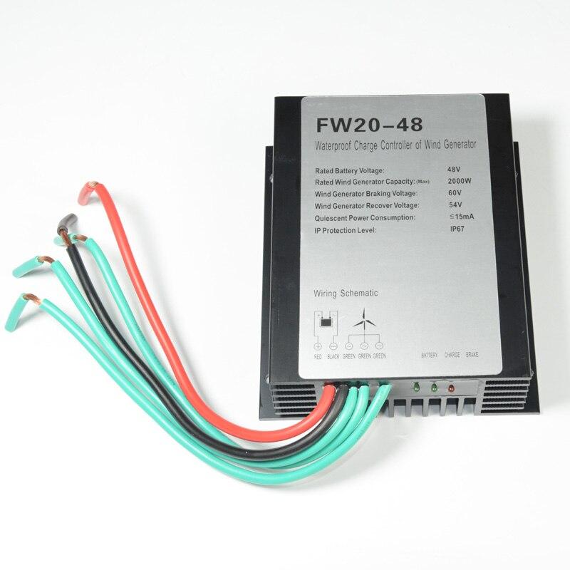 2000 w 2kw retificador 48 v vento