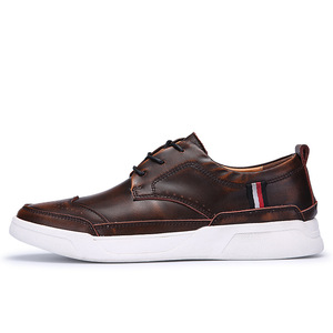 Image 5 - 2018 גברים באיכות גבוהה עור shoesmen נעליים יומיומיות Mens מבטא אירי נעלי ספורט אופנה