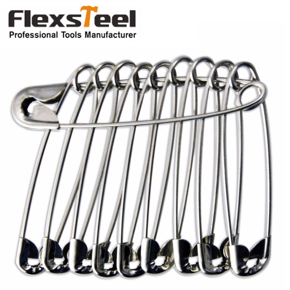 100 Pieces Extra-Large Sewing Safety Pins Set For Garment Accessories 27/30/36/45/55mm for Selection