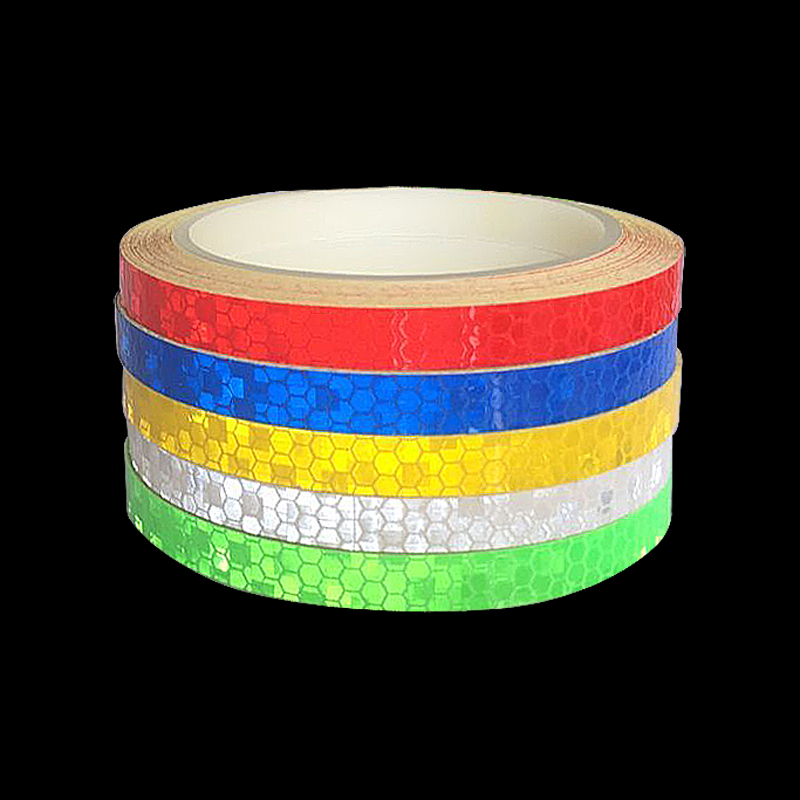 1 cmX800cm/315inch Fluorescent Reflective tape, Reflective tape sticker for Truck Car Motorcycle Bike safety MTB use